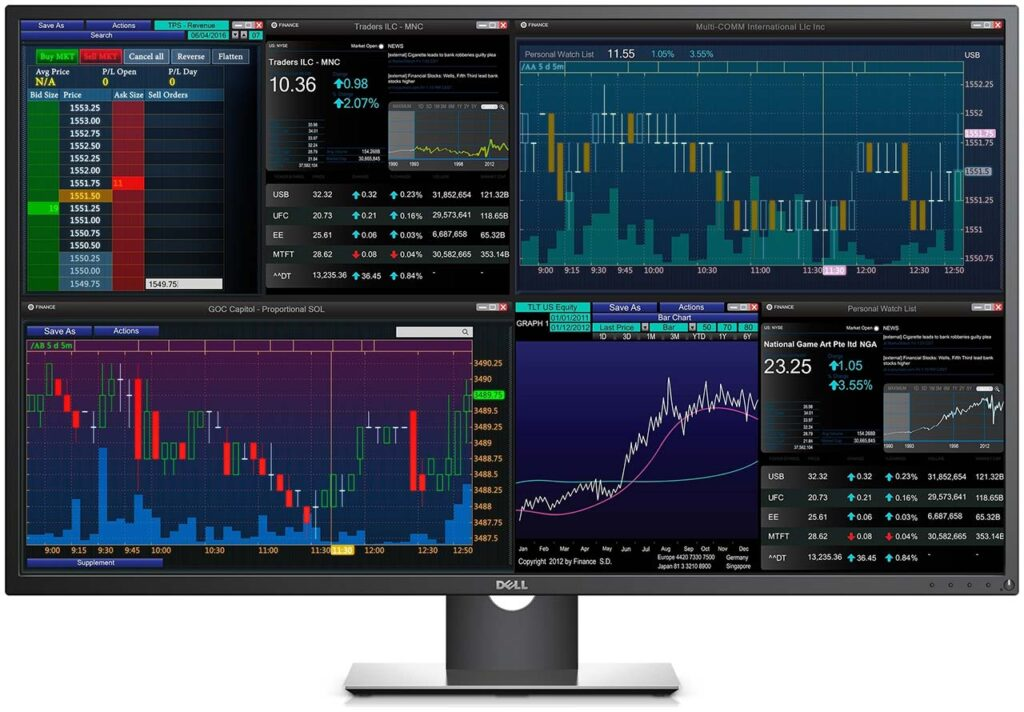 Dell P4317Q 43″ Ultra-High-Definition Monitor