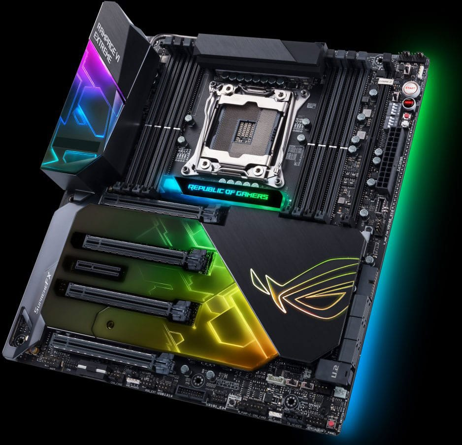Asus ROG Rampage VI Extreme X299 Motherboard